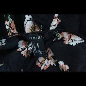 Forever 21 Dresses - Long flower dress